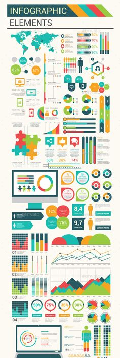 Modern Infographic elements design Infographics, Infographic and - best of periodic table of elements vector