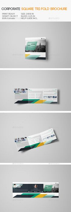 Brochure Template For Indesign  A And Letter  Amann