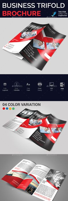 Trifold Corporate Brochure Template Indesign Indd Download Here