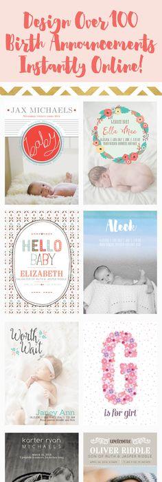 baby announcements online