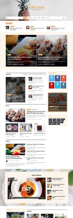 Recipe blog is a perfect responsive wordpress theme for food cairo newspaper magazine wordpress theme forumfinder