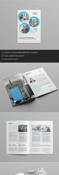 The Creative Brochure  Square  Brochures Brochure Template And