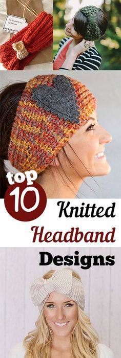 Free knitting patterns for headbands ear warmers head wraps free knitted headbands are so cute and are the perfect beginner project find free knitting dt1010fo