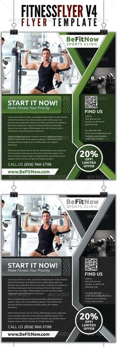 Fitness Evolutions Sports Flyer  Evolution Flyer Template And Fonts