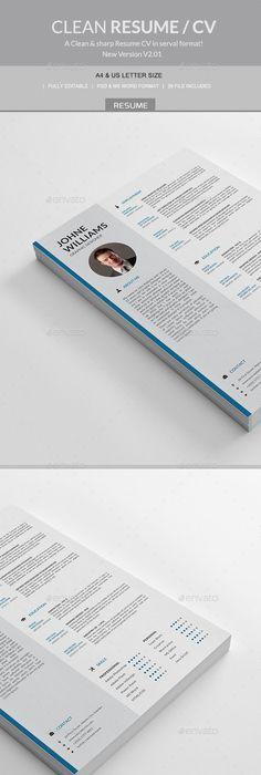 Resume/Cv   Plantilla cv, Currículum y Plantas