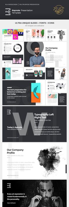 Cometa Keynote Presentation Keynote Creative Powerpoint And Template