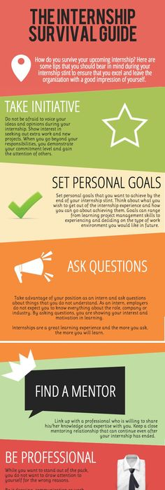 Internships Infographic  Infographic Internships Survey And