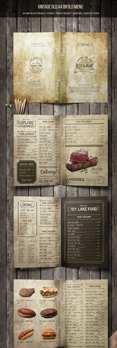Menu  Id  French Restaurant Menu Restaurant Menu Template And