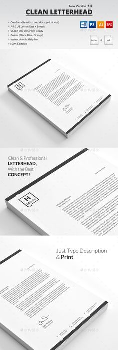 Letter Head Design For Major Ceo  Identity  Logos
