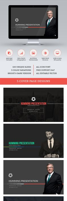 Ready Multipurpose Pitch Deck Powerpoint Template Template - Unique company profile presentation template ideas