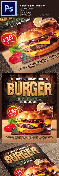 Korean Food Restaurant Poster  Flyer Template  Flyer Template