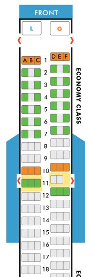 Comfortable Southwest Airlines Seating Chart Seat Map Of The
