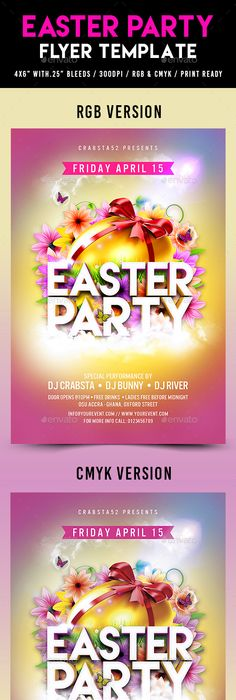 Easter Party  Easter Party Easter And Flyer Template