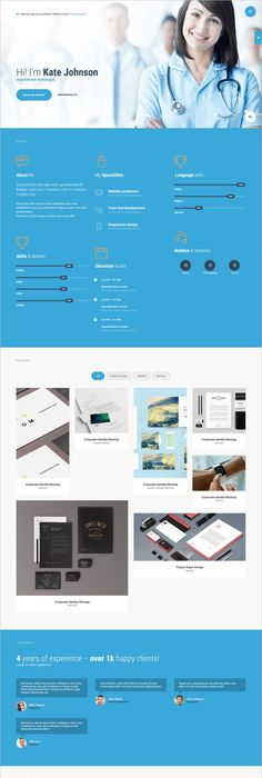 Download this Weeks Freebies #Free #WordPress #Resume #Template ...