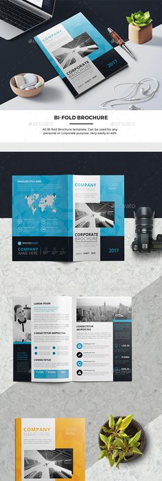 Free Booklet Template Hexagon Modern Brochure  Corporate Brochure Brochures And Modern