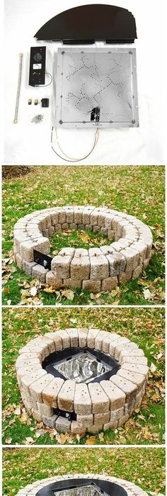 Build A Outdoor Gas Firepit Document On Building His