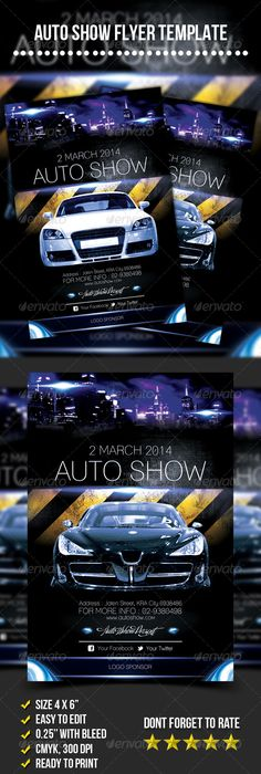 Tuning Car Show Flyer Template Psd Design Download Http