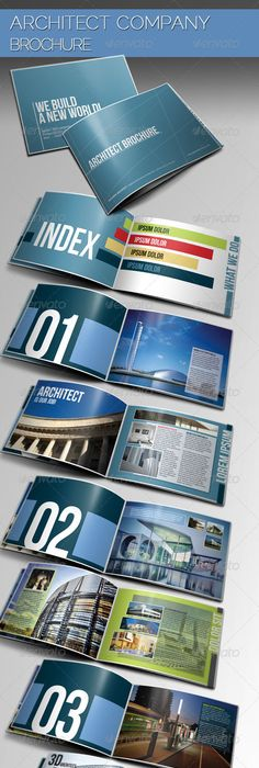 Construction Company Brochure  Brochure Template Brochures And