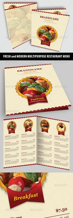 Delicious Menus For Your Recipes  Restaurant Menus