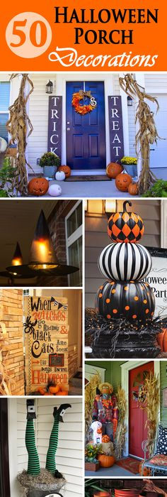 The BEST Do it Yourself Halloween Decorations {Spooktacular - decorate house for halloween