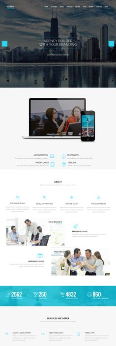 15+ Best Free One Page Parallax Responsive WordPress Themes to Build ...