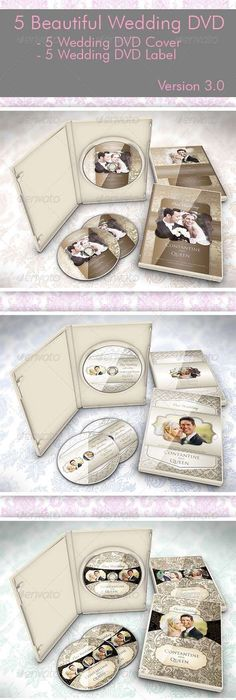 Wedding Elegant Dvd Case Cover  Template Cd Cover Design And Cd