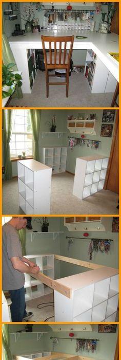 jeder kennt 39 kallax 39 regale von ikea hier sind 13 gro artige diy ideen mit kallax regalen. Black Bedroom Furniture Sets. Home Design Ideas