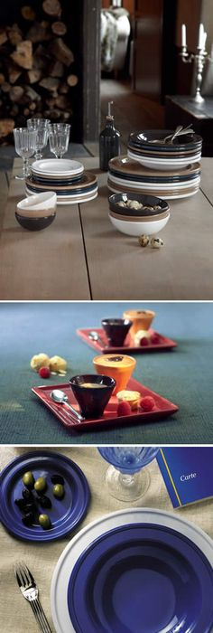 Emile Henry Ceramic Tableware Dinnerware Sets Butter Dishes and Butter Pots and Ceramic Mugs & Emile Henry Natural Chic 9