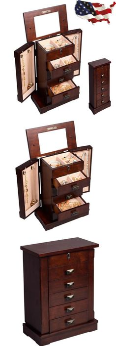 Jewelry Boxes 3820 Figured Claro Walnut And Gaboon Ebony Trim