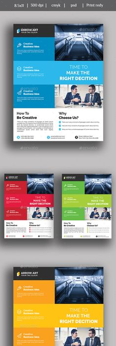 Free Corporate Business Flyer Psd Template  Misc