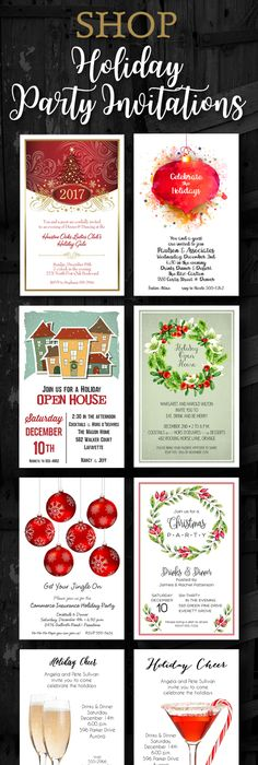 Business Mingle Jingle Invitations for Holiday Party Enjoy - invitation letter for home party
