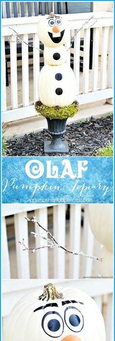Let It Glow! Frozen-themed Jack O\u0027Lanterns DIY Holidays, Halloween - frozen halloween decorations