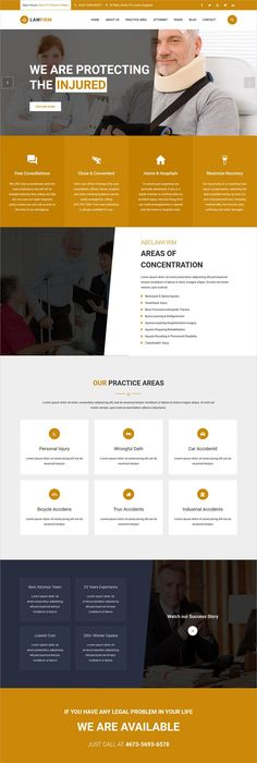 Law Expert - Law Firm Responsive Website Template | Template ...