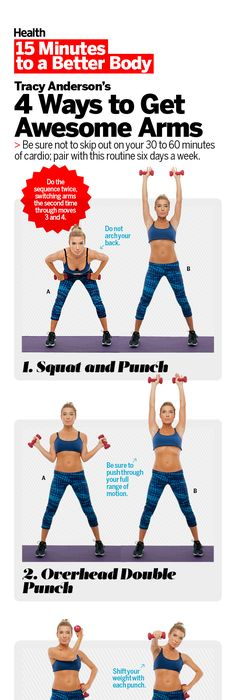 4 Ways To Get Awesome Arms