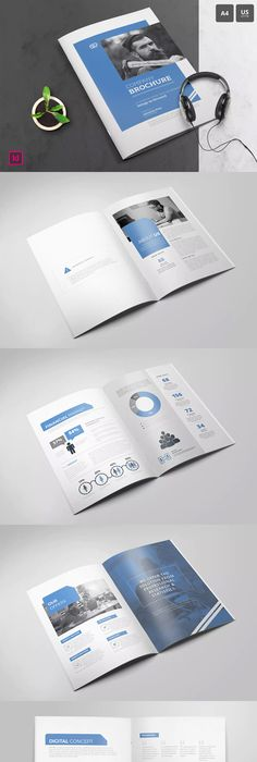 Company Profile Template 16 Pages InDesign INDD A4   Corporate ...