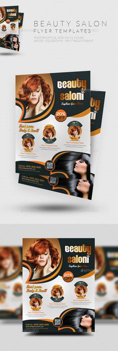 Hair Salon Advertising Flyers  Google Search  Design