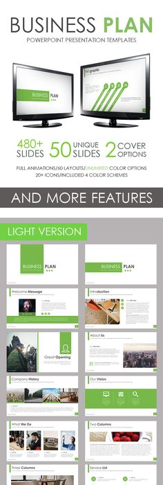 Business Plan Powerpoint Template Business Planning Template - Business plan template powerpoint
