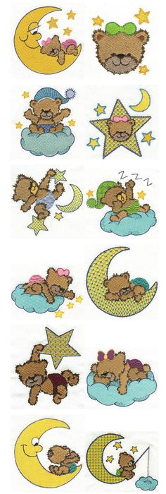 Free disney applique designs free embroidery designs machine embroidery free machine embroidery designs bedtime bears dt1010fo