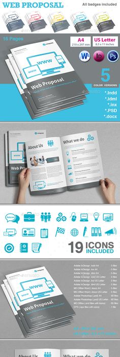 Web Design Proposal Proposals, Proposal templates and Template