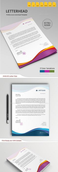 Corporate communication through well designed letterheads manifests - copy business letter format template with letterhead