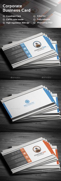Business Card Template PSD BusCard Pinterest Card Templates - 35 x2 business card template