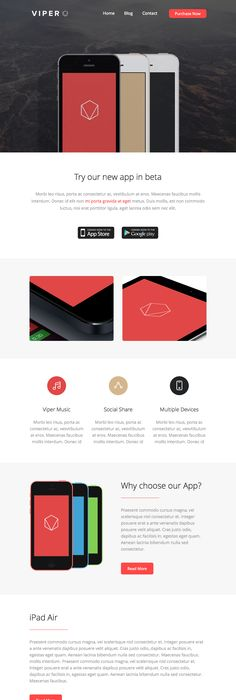 Free Responsive Email Templates  Email Design