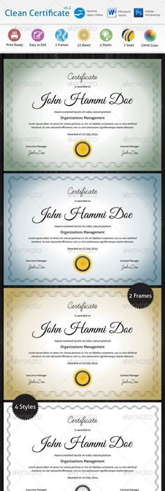 Detailed certificate certificate template and text fonts clean certificate print templatespsd yadclub Choice Image