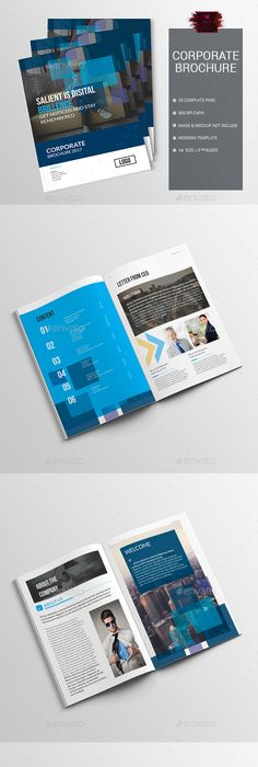 Trifold Corporate Indesign Brochure Template Only Available Here