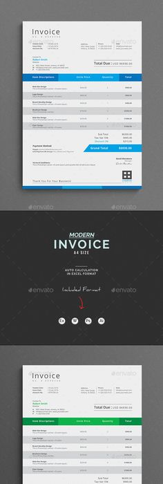 Sales Invoice Template Great Alternative To An Expensive