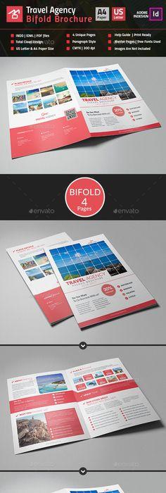 Brochure 3xA4 Tri-fold Indesign Template Indesign templates - trifold indesign template