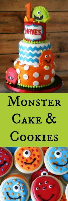 Monsters Birthday Little Monster Birthday Bash Monster party
