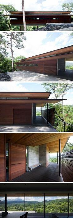 Zeitgenössisches Haus Mit Holz Fassadenverkleidung Von Studio 9one2 |  Architecture Ideas | Pinterest | Zeitgenössische Häuser,  Fassadenverkleidung Und ...