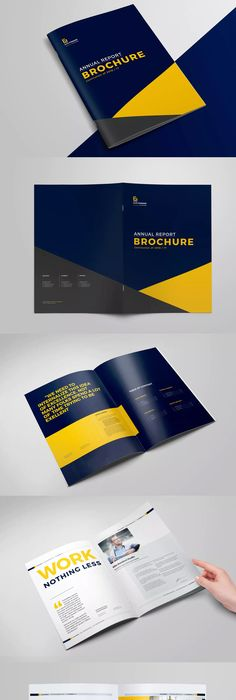Annual Report  On Behance  Layouts    Annual