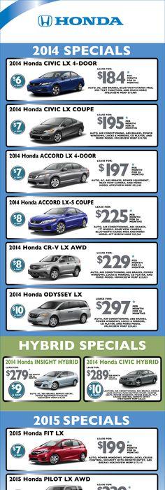 Valley Honda May Finance Specials   Valley Honda Specials ...